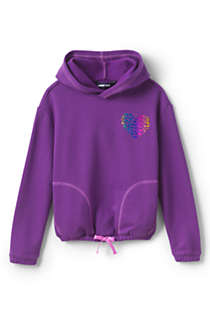 Little Girls Long Sleeve Active Hoodie, Front
