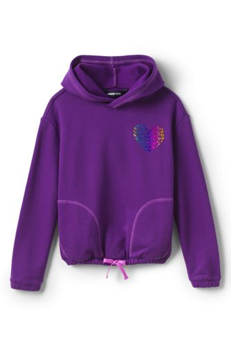 Girls' Long Sleeve Active Hoodie