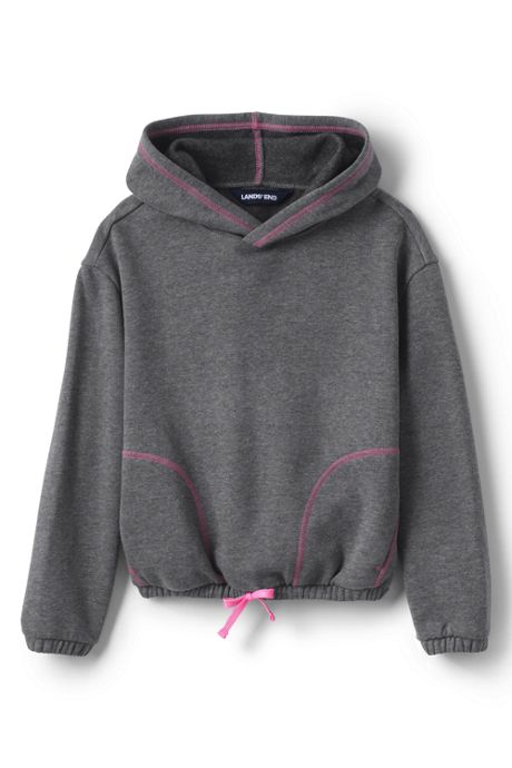Girls Plus Size Long Sleeve Active Hoodie