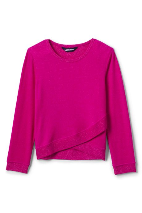 Toddler Girls Long Sleeve Soft Brushed Top