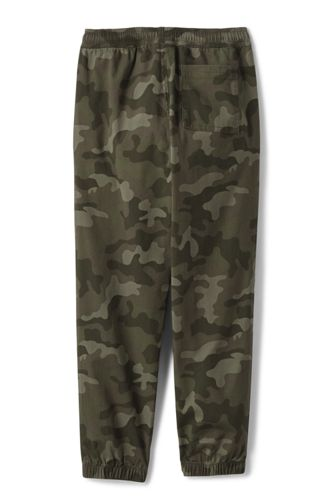 Boys Iron Knee Pull On Pattern Stretch Woven Jogger