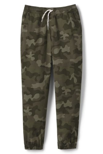 Boys' Iron Knees®  Pull On Pattern Woven Jogger