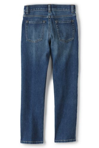 Little Boys Slim Iron Knee Comfort Denim