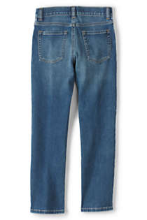 Boys Iron Knee Comfort Denim, Back