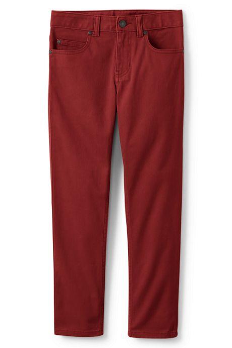 Boys Husky Iron Knee Stretch 5 Pocket Pants