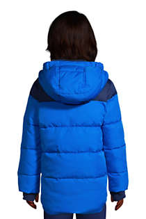 Boys ThermoPlume Fleece Lined Parka, Back