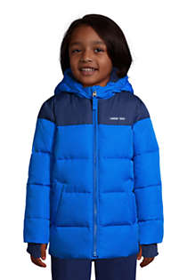 Boys ThermoPlume Fleece Lined Parka, Front