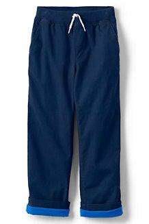 Boys' Iron Knee Stretch Lined Rib Waist Trousers
