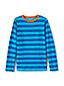 Boys' Long Sleeve Pattern Slub T-Shirt