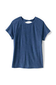 Girls Plus Size Short Sleeve Performance Tee