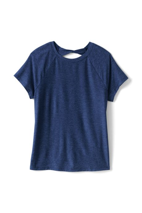 Girls Short Sleeve Performance Tee