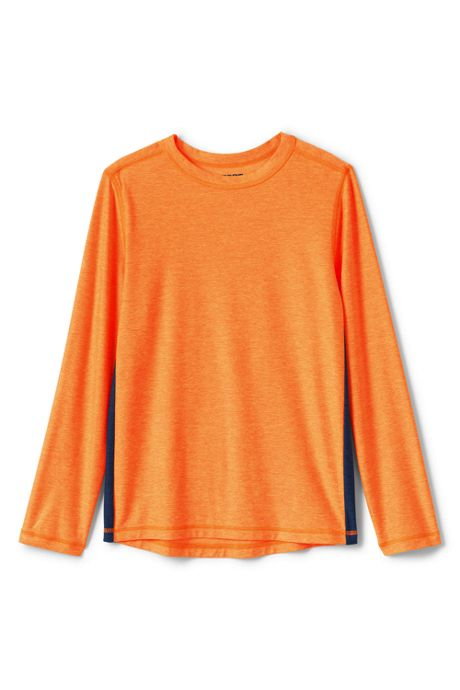 Little Boys Long Sleeve Performance Tee