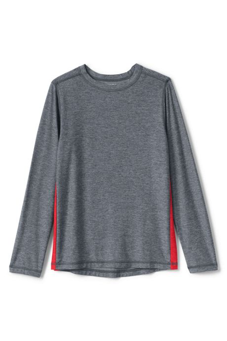 Boys Husky Long Sleeve Performance Tee