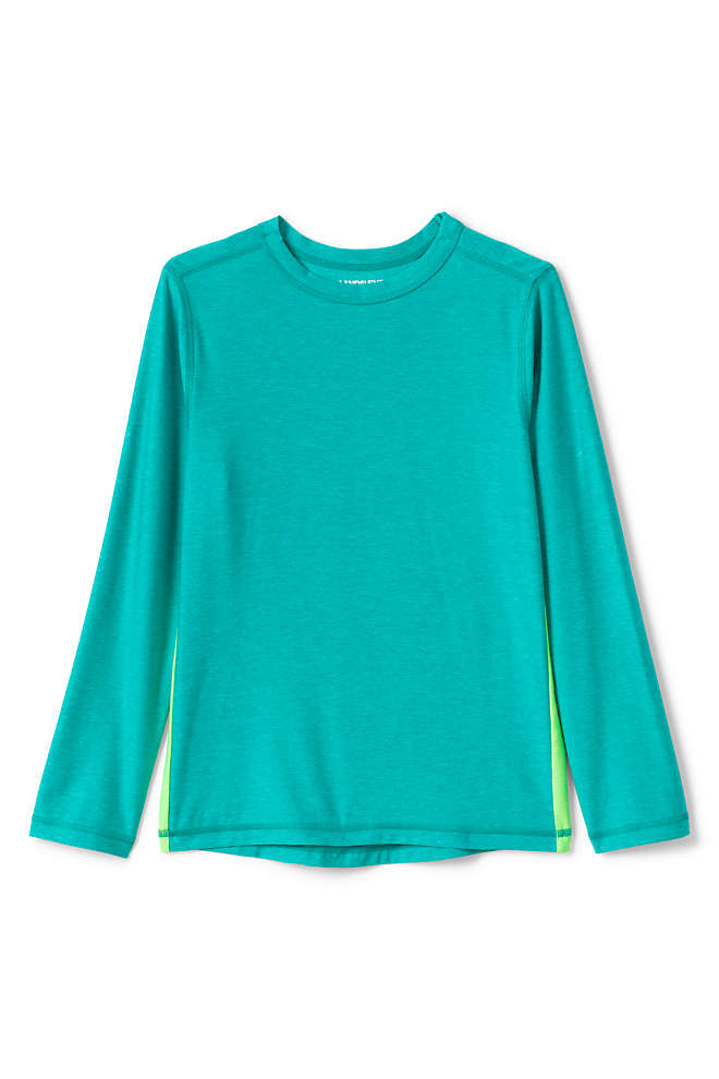 Boys Long Sleeve Performance Tee, Front