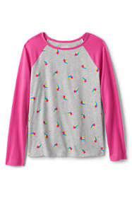 Girls Plus Raglan Graphic Tee