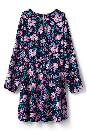 Girls Tie Front Dress