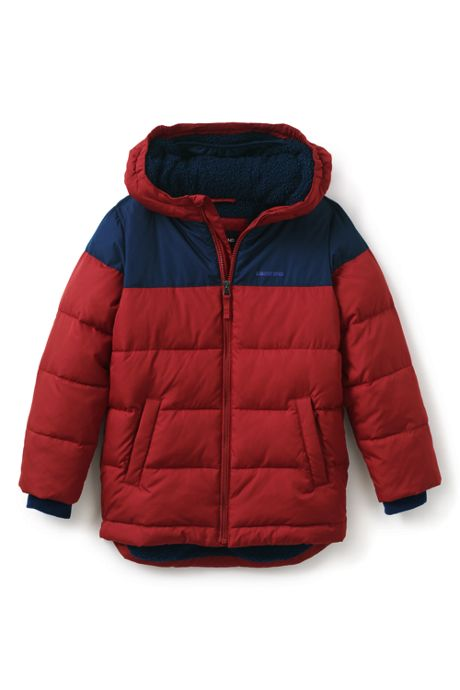 Boys ThermoPlume Fleece Lined Parka