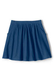 Girls Plus Size Indigo Skort