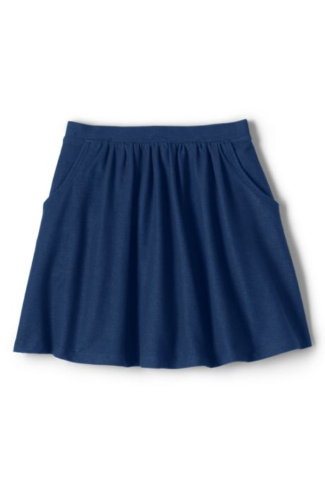 Girls Indigo Skort