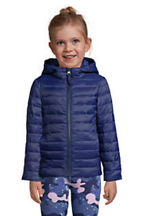 Kids ThermoPlume Hooded Jacket, Front