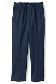 School Uniform Boys Husky Elastic Waist Pull-On Chino Pants