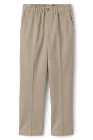 Toddler Boys Elastic Waist Pull-On Chino Pants