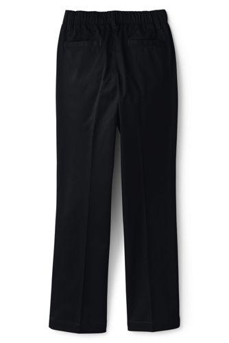 Little Girls Elastic Waist Pull-On Chino Pants