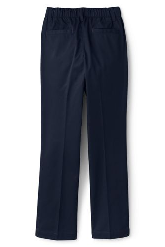 School Uniform Toddler Girls Elastic Waist Pull-On Chino Pants