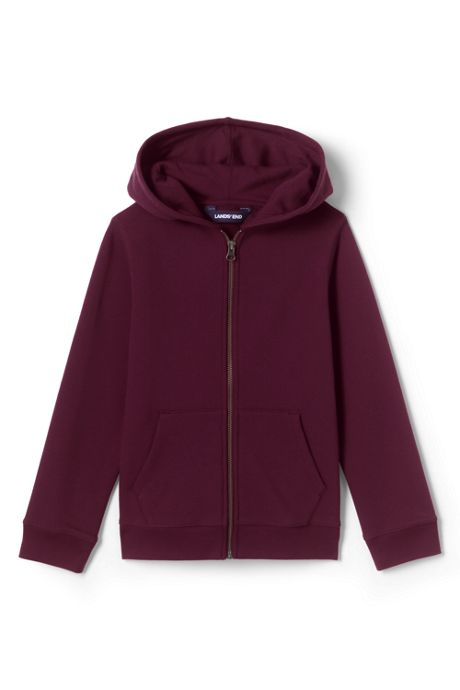 School Uniform Kids Zip Front Sweatshirt