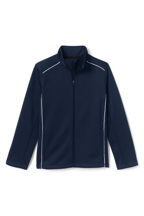 School Uniform Little Kids Active Track Jacket