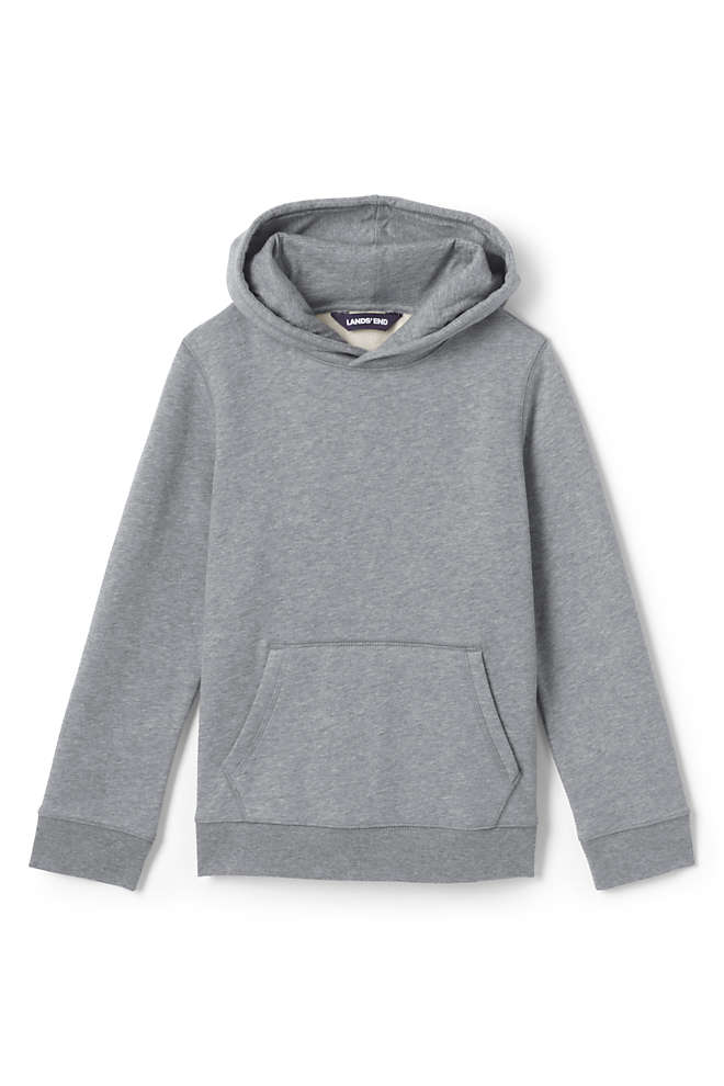 School Uniform Kids Hooded Pullover Sweatshirt, Front
