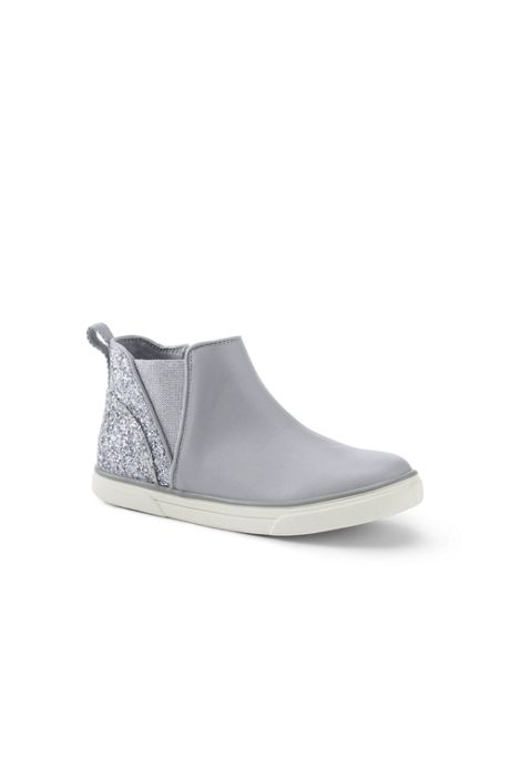 Girls Zip Sneaker Boots