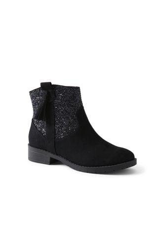 Girls' Tassel Ankle Boots