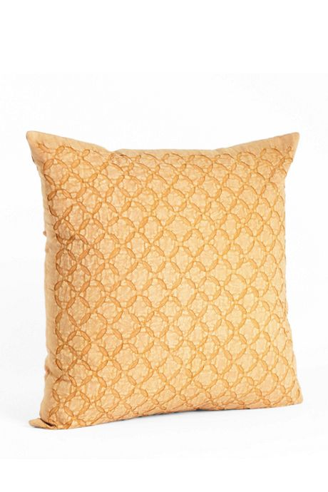 Applique Sheeting Decorative Throw Pillow