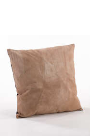 Leather Decorative Throw Pillow