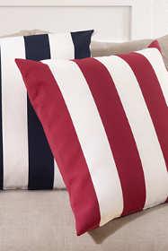 Stripe Indoor Outdoor Decorative Throw Pillow