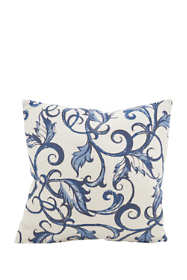 Vine Print Decorative Throw Pillow