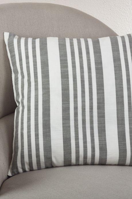Saro Lifestyle Striped Decorative Throw Pillow