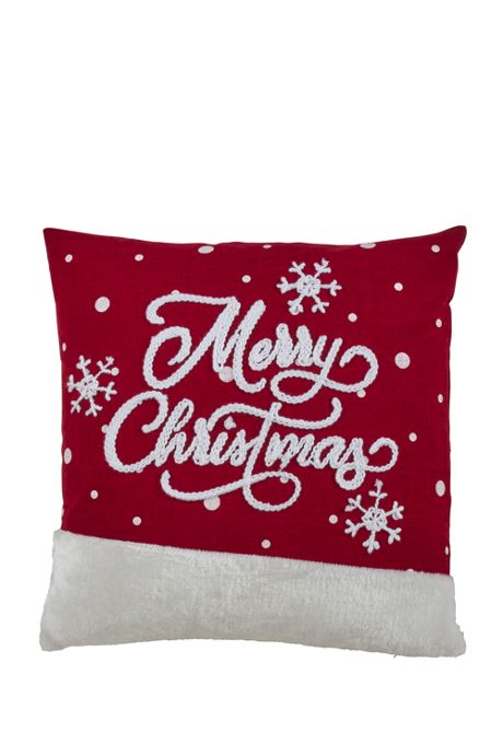 Merry Christmas Decorative Throw Pillow