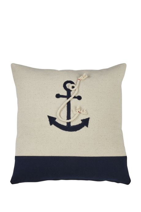 Anchor Design Decorative Throw Pillow