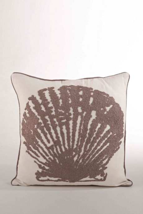 Shell Design Decorative Throw Pillow