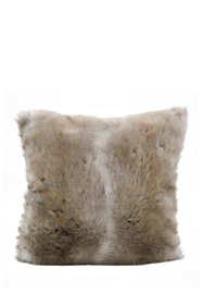 Faux Fur Decorative Throw Pillow