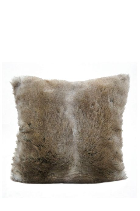 Faux Fur Decorative Throw Pillow