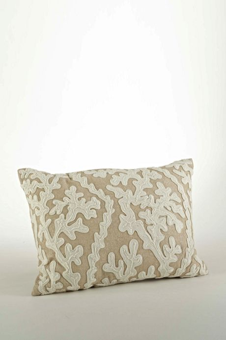 Dori Embroidered Decorative Throw Pillow