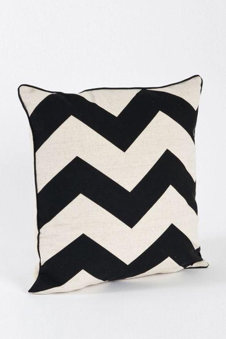 Bold Chevron Decorative Throw Pillow