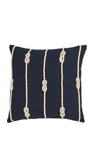 Double Knot Rope Decorative Throw Pillow