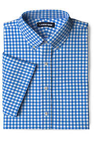 Men's Traditional Fit Short Sleeve Comfort-First Commuter Dress Shirt