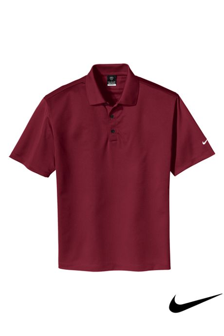 Nike Men's Big Short Sleeve Tech Basic Dri FIT Polo