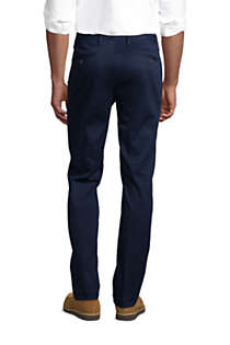 Men's Slim Fit Comfort-First No Iron Chino Pants, Back
