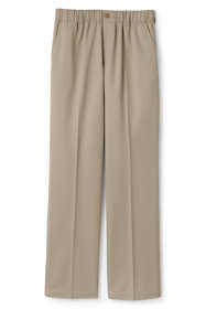 Women's Elastic Waist Pull-On Chino Pants